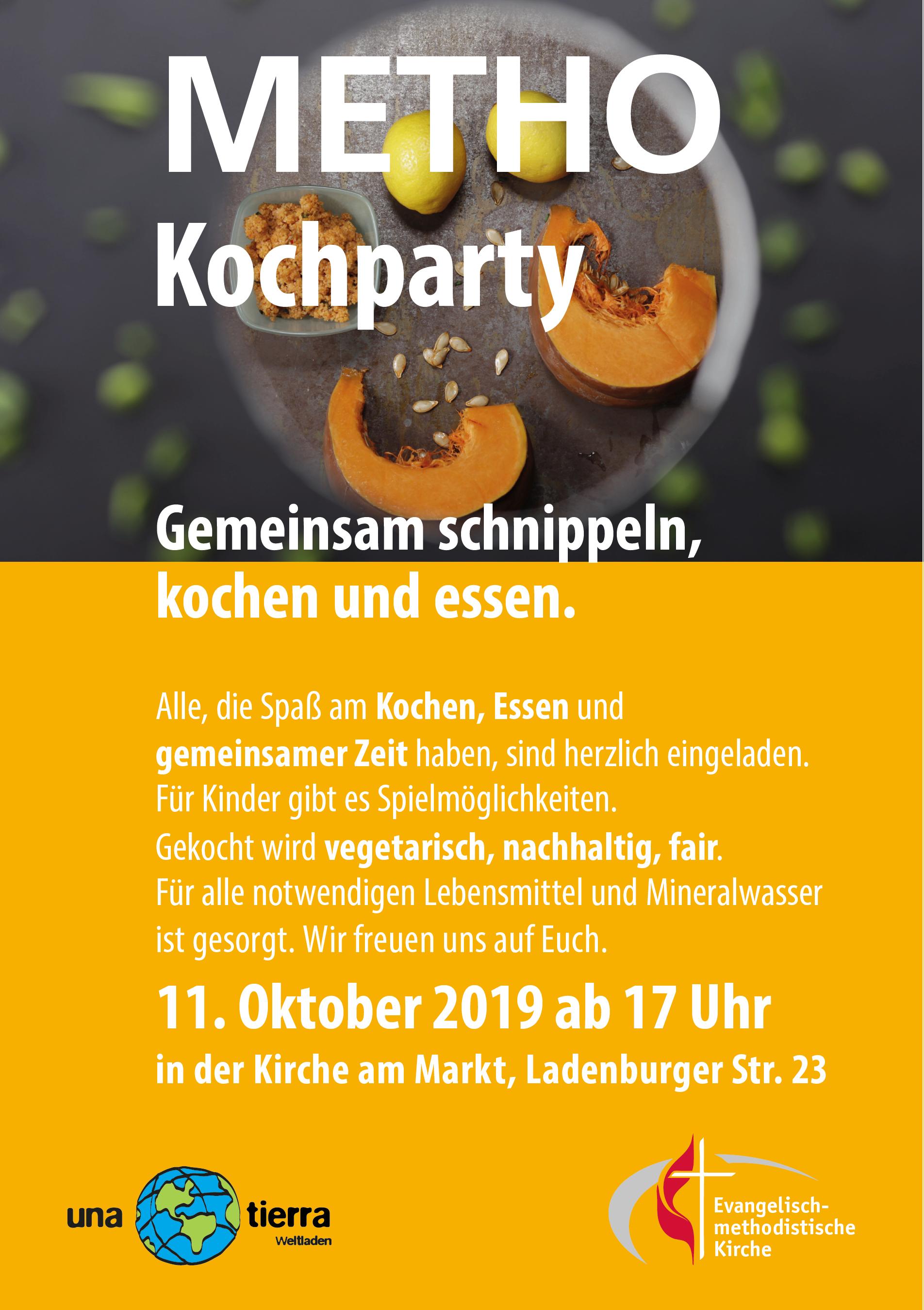 Kochparty Oktober
